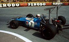 Jackie Stewart, ELFMatra-Ford MS80, 1969 Monaco Grand Prix