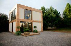 Casa resistente à furacões é feita de palha e fibra de maconha.