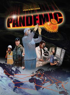 Pandemic - cooperative strategy board game for 2-4 players. My partner and I LOVE this game and it is perfect for people (like me) who do not like to lose. Either you all win or you all lose! #game #gifts #boardgame