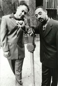 Dan the Automator and Prince Paul as Handsome Boy Modeling School Yes indeed!