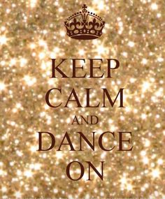 Keep Calm and Dance Keep your hands busy and your mind clear- www.dizzyspinners.com