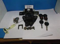 01-04 Dodge Intrepid Trunk Lid Latch Lock Actuator 2 fob 2 keys 1A #dodgeoemfactorystock