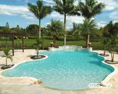 #pool, #raised  Freeform pool, raised spa, tanning ledge, paver deck.