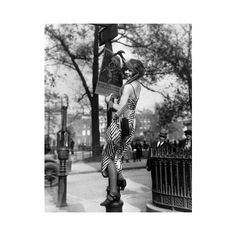 1920's Greenwich Village Woman Hanging Poster - Vintage Life Network found on Polyvore