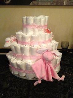 babyshower taart van pampers luier taart | GEMAAKTE PROJECTJES van mij zelf | Pinterest | Babies babyshower taart van pampers