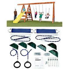 Swing N Slide Pioneer Playground Hardware Kit Playground Slide, Swing And Slide, Yard, Kids Rugs, Hardware, Kit, Decor, Patio, Decoration