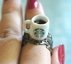 starbucks ring.