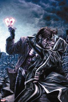 X-Men: Legacy No. 224: Rogue, Gambit Plastic Sign