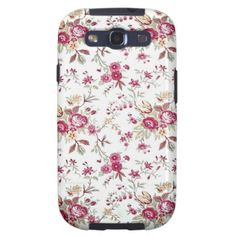 Vintage Floral Galaxy S3 Case $47.95
