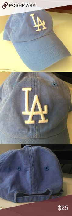 American Needle Washed Out LA Dodgers Hat Super cute, has been worn several times but in excellent condition! Bought from pac sun, Dodgers blue color PacSun Accessories Hats