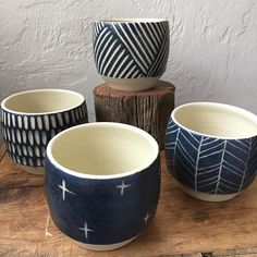 Some tumblers too! #clay #ceramics #pottery #tumbler