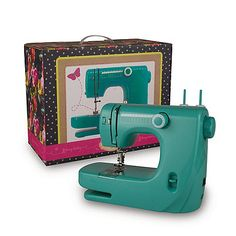 Rose & Butler Sewing machine teal | Debenhams