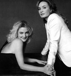 Drew Barrymore & Jessica Lange (Instyle 2009)