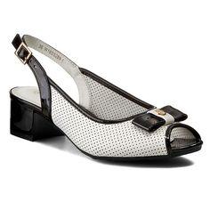 Sandály CLARA BARSON - W16SS289-1 Bílá