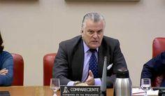 El ex tesorero, Bárcenas, ha estado impasible ante la lluvia de preguntas, que le han hecho los representantes de los grupos parlamentarios.