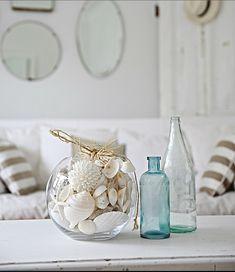 Pale Green and Blue Glass La Maison Gray - Interiors