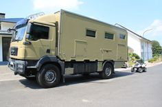 MAN TGM 13-290 4 x4 Adventure Camper