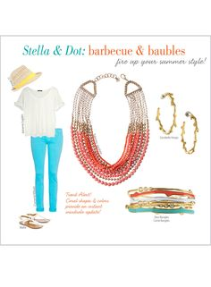 Barbecue & Baubles  www.stelladot.com/kateboutique