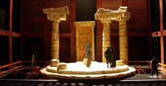 Ion. Shakespeare The - Ion. Shakespeare Theatre Company. Scenic design by Rachel Hauck. --- #Theaterkompass #Theater #Theatre #Schauspiel #Tanztheater #Ballett #Oper #Musiktheater #Bühnenbau #Bühnenbild #Scénographie #Bühne #Stage #Set