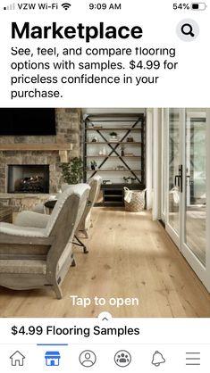 Living Room Shelves, Flooring Options, Dining, Interior Design, Shelving Units, Floors, Home Decor, Dinner, Nest Design