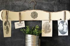 15 Clever DIYs That Repurpose Old Chairs - Don't throw out your old chairs! It's easy to find a great DIY projects to upcycle any old chairs you might have. For some great ideas, check out these clever DIYs that repurpose old chairs! Old Family Photos, Back Photos, Vintage Crib, Vintage Chairs, Diy Garden Furniture, Furniture Ideas, Furniture Outlet, Discount Furniture, Scarf Rack