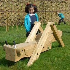 Grasshopper playground structure