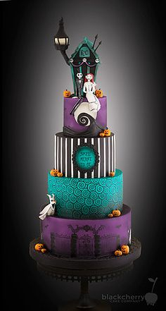 I love the colours and decor of the cake minus the figurines and house on top.