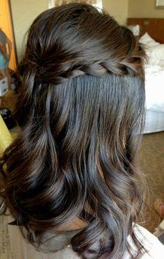 Bridal Hairstyles Half Up Half Down With Braids