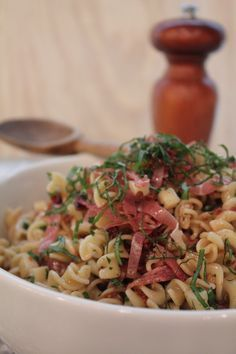 Antipasto Pasta Salad made with Emeril's Italian Essence - www.emerilscooking.com #Emeril #delicious