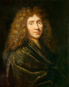 Image: Pierre Mignard - Portrait of Moliere (1622-73)