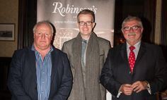 Robinson's M.D. Robin Stewart alongside David Meade and Jim Neilly