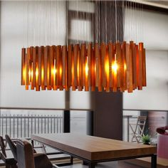 Nordic Wood Pendant Light Modern LED Suspension Warm Luminaire Hanging Lamp Lamparas Colgantes Light Shade For Parlor Restaurant