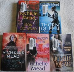 Richelle Mead Lot of 5 Thorn Queen~Shadow Heir~Iron Crowned~Succubus On Top +