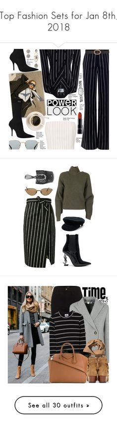 """""""Top Fashion Sets for Jan 8th, 2018"""" by polyvore ❤ liked on Polyvore featuring Zimmermann, By Charlotte, Balenciaga, Thierry Mugler, Oliver Peoples, A.P.C., Chanel, Marni, Cartier and Yves Saint Laurent"""