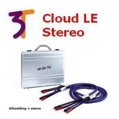 van den Hul Luidsprekerkabel, The Cloud LE Hybrid 3T serie, Stereo set, 200 cm