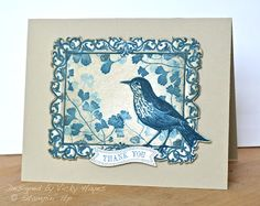 Stampin' Up ideas and supplies from Vicky at Crafting Clare's Paper Moments: Papaya Collage in just two colours