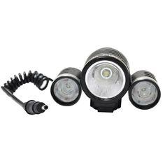 Lanterna Led Cree T6 8000w 22000 Lumens Zoom 200x Farol Bik - R$ 175,00