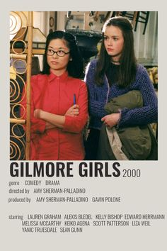 Gilmore Girls Movie, Gilmore Girls Poster, Iconic Movie Posters, Iconic Movies, Film Movie, Liza Weil, Scott Patterson, Girlmore Girls, Poster Art