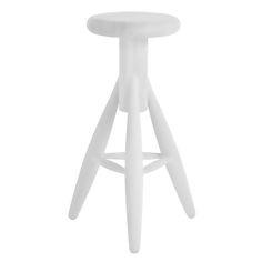 Rocket bar stool, white