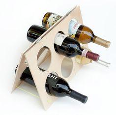 DIY - A Folding Wine Rack