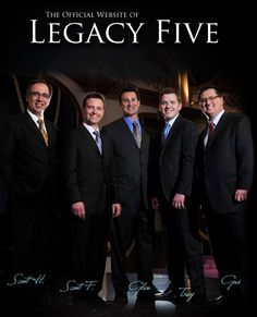 Legacy Five- Southern Gospel Quartet Singing at it's best