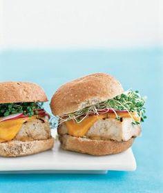 Tofu Burgers | RealSimple.com
