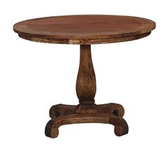 Chelsea Foyer Table - Beach Wood Extreme Distressed