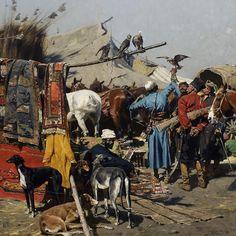 """Wielka wakacyjna wystawa w Muzeum Narodowe w Warszawie! """"Józef Brandt 1841–1915"""" R o z s z e r z o n a rzeczywistość do 30 września 2018…"""