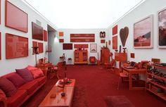 """""""Desvio para o Vermelho"""", obra de Cildo Meirreles em Inhotim! - http://comosefaz.eu/desvio-para-o-vermelho-obra-de-cildo-meirreles-em-inhotim/"""
