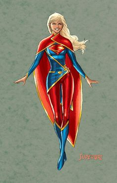 Supergirl by Ian Churchhill                                                                                                                                                                                 More