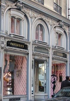 Paris shop exterior - Paris has the most ecclectic collections of shops in the world
