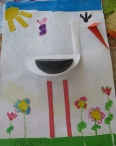 Crafts,Actvities and Worksheets for Preschool,Toddler and Kindergarten.Lots of worksheets and coloring pages. Spring Crafts For Kids, Fall Crafts, Art For Kids, Christmas Crafts, Bird Crafts, Butterfly Crafts, Paper Crafts, Popsicle Stick Crafts For Kids, Craft Stick Crafts
