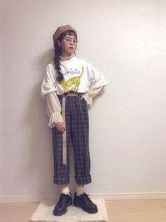 こんばんわ❇︎❉❋❆❃❁✾ ダサゆるこーで☺️❣️ 今日も見てくださってありがとうございました☺️� Normcore, Comfy, How To Wear, Pants, Style, Fashion, Trouser Pants, Swag, Moda