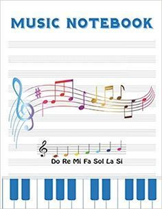 """This Music Notebook is for school kids & children in grade school high school teens & teenagers college kids uni students and adults to handwritten music notation & music notes.  his musician's notebook contains: 100 pages of Lined  10 staves per page with thin lines paper size 8.5"""" x 11"""" inch Music Notebook, The Notebook Quotes, Writing Notebook, Journal Notebook, Notebook Ideas, Online Reading For Kids, Kids Reading Books, Read Novels Online, Free Books Online"""